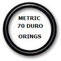 Metric Buna  O-rings 8 x 2.4mm Price for 25 pcs