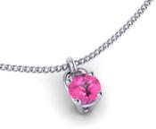 Pink Sapphire 3mm Brilliant Cut