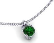 Emerald 3mm Brilliant Cut