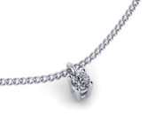 0.16ct Brilliant Cut Diamond Pendant