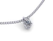 0.20ct Brilliant Cut Diamond Pendant