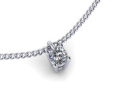 0.27ct Brilliant Cut Diamond Pendant