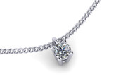 0.30ct Brilliant Cut Diamond Pendant