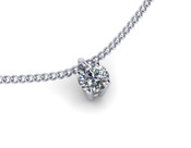 0.50ct Brilliant Cut Diamond Pendant