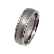Titanium 6mm Rounded Design