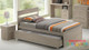 Capri 5 Piece Bedroom Suite with Trundle Bed is a very modern and practical bedroom solution for boys or girls.