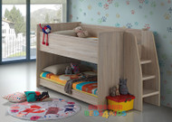 Aurora Midi Sleeper with Lower Bed & Ladder is a very modern and practical bedroom solution for boys or girls. Bed includes easy to climb ladder with lower single bed. Awesome Value!