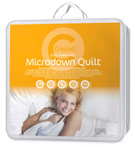 Double Microdown Quilt is perfect for keeping you warm and cosy on the coldest nights!