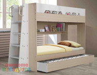 Melbourne Bunk Bed with Trundle