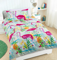 Flamingos Single Quilt Cover