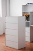 Boho Space Saver Bunk Bed is a great option for space saving. Awesome use of space with a drawers, cupboard, desk and plenty of shelf space. Great size desk for study and drawing.