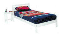 Junior Single Bed Frame White