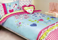 Flower Garden Double Quilt Cover By Cubby House Kids
