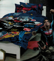 Batman V Superman Single Quilt Cover