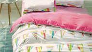 Carnival Single & Double Quilt Cover Set