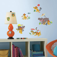 Get ready for a Pride Land Adventure with Disney The Lion Guard Wall Decals.