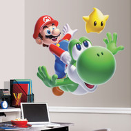Join Mario and Yoshi as they venture out to save Princess Peach from Bowser's clutches