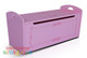 Princess Toy Box completes your little girls bedroom princess theme. Great storage and great value for money. Co-ordinates with all pink novelty beds.