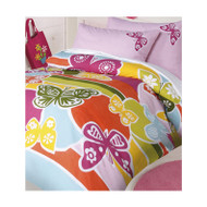 Butterfly Double Quilt Cover By Happy Kids