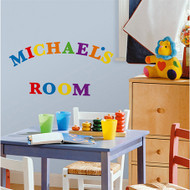 Customise and personalise your surroundings with this versatile, fun, and bright set of peel and stick letters.