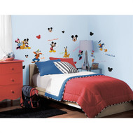 Bring the fun of Mickey and his friends to your child's room with this charming set of wall decals.