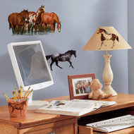 These Wild Horses wall stickers are absolutely gorgeous, and we promise they will appeal to horse fans of all ages.