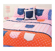 Pockets Double Quilt Cover By Cubby House Kids