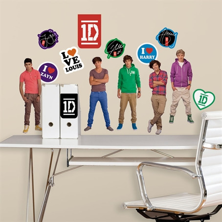One Direction Wall Decals Awesome Beds Kids - One direction wall decals