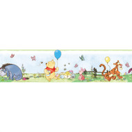 Pooh and Friends Peel & Stick Border