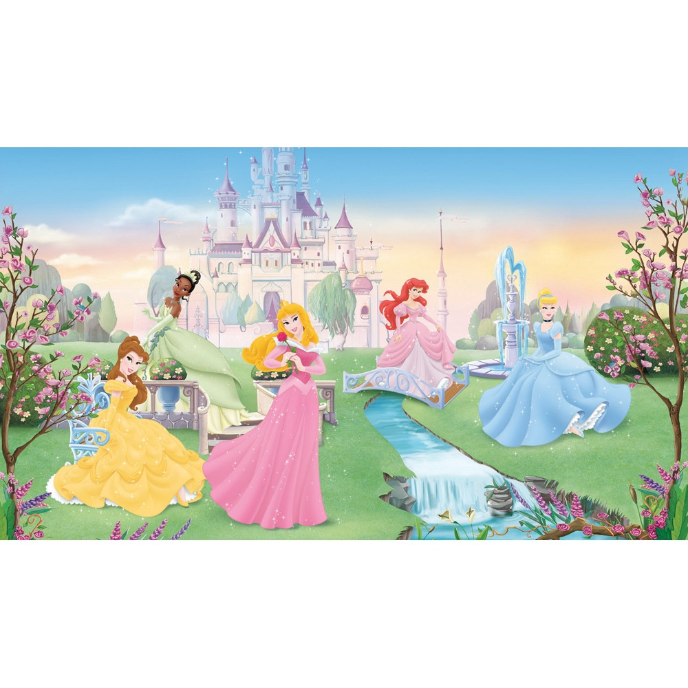 Featuring Cinderella, Ariel, Belle, Aurora, and Tiana, a Disney Princess fan of any age will love this beautiful piece of wall decor.