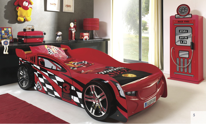 No 3 Nighter Speeder is our lastest design and far away the one of coolest car bed on the market!