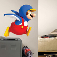 Penguin Mario Giant Wall Stickers