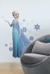 Frozen Elsa Giant Wall Stickers