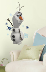 Frozen Olaf The Snow Man Giant Wall Stickers