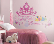Disney Princess Crown Giant Wall Stickers