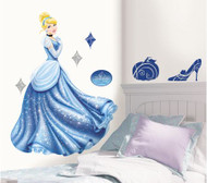 Disney Princess - Cinderella Glamour Giant Wall Stickers