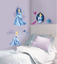 Disney Princess - Cinderella Glamour Wall Stickers