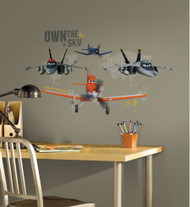 Planes - Own The Sky Giant Wall Stickers