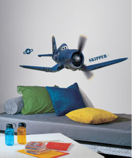 Planes - Skipper Riley Giant Wall Stickers