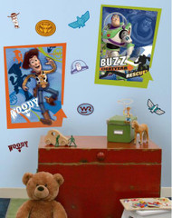 Buzz & Woody Giant Wall Stickers