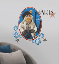 Muppets - Miss Piggy Giant Wall Stickers