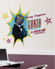 Muppets - Gonzo Giant Wall Stickers