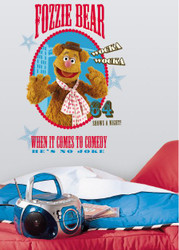 Muppets - Fozzie Giant Wall Stickers