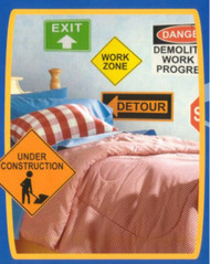 Construction Signs Easy Accent Stickers Super-Pack