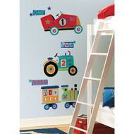Transportation MegaPack Wall Stickers