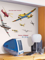 Take Flight MegaPack Wall Stickers