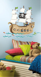 Pirate Ship MegaPack Wall Stickers