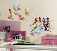 Disney Fairies Secret of the Wings Wall Stickers with Glitter