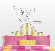 Disney Fairies - Tinkerbell Headboard Giant Wall Stickers