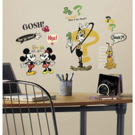 Mickey & Friends - Mickey Mouse Cartoons Wall Stickers